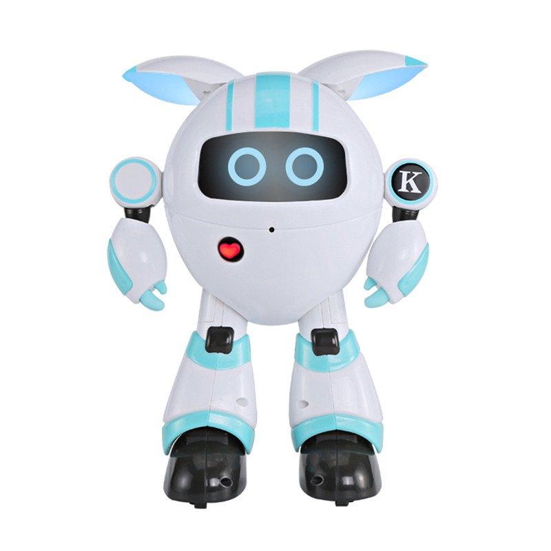JJRC R14 Intelligent Remote Control Round Robot Blue