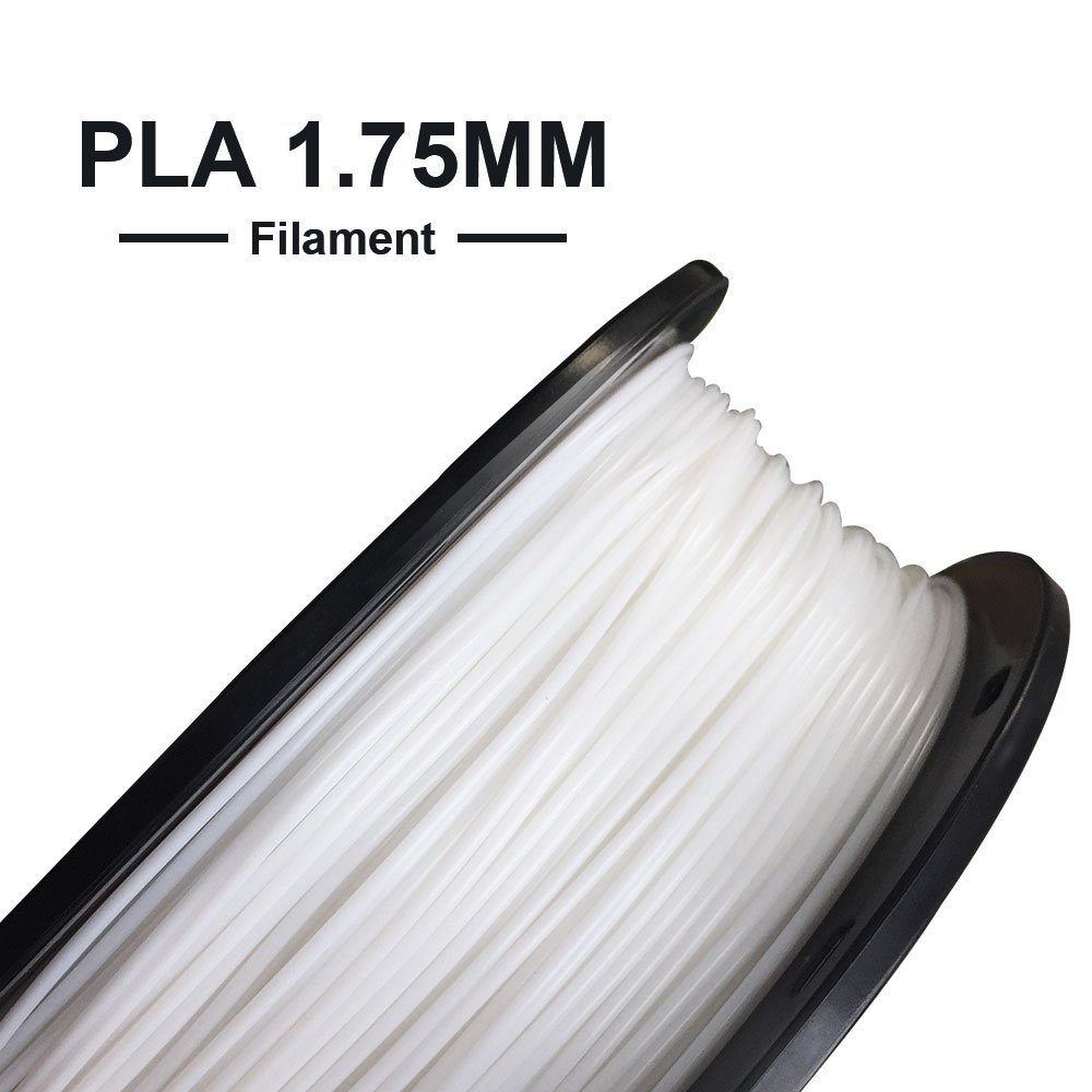 Tronxy 3D Printing Materials PLA/WOOD Filament 1.75mm Soft TPU Whte