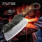 High Carbon Clad Steel Kitchen Chef Knife Japanese Santoku Style B