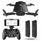 HS160 Selfie Foldable Drone 720P HD Camera WIFI FPV Altitude Hold Headless Mode G-sensor RC