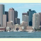 Boston Harbor and Skyline