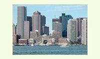 Boston Harbor and Skyline