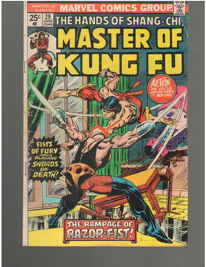 Master of Kung Fu #29 (A1)
