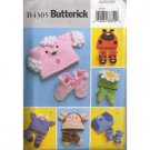 Butterick B4305 - Infants-Toddlers Hats & Slippers