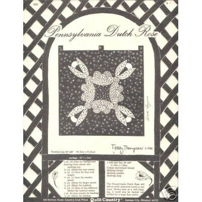 Quilt Country - Pennsylvania Dutch Rose Pattern