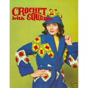Crochet With Squares Patterns Booklet