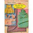 Coats & Clark - Vintage Book For Babies