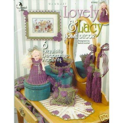 Lovely & Lacy Home Decor Crochet Patterns
