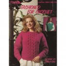 Fashioned For Crochet - Sweater Patterns