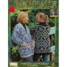 Bernat Knit Artic Coat & Headband Pattern