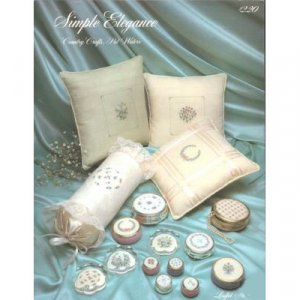 Country Crafts - Simply Elegance  Cross Stitch