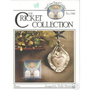 Cricket Collection - Peace Cross Stitch Pattern