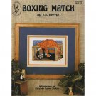 Boxing Match - Cat - Cross Stitch Pattern