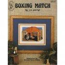 Boxing Match - Cat - Cross Stitch Pattern