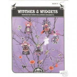 Halloween - Witches & Widgets Cross Stitch Pattern