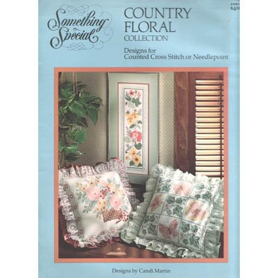 Country Floral Collection - Cross Stitch Pattern Leaflet