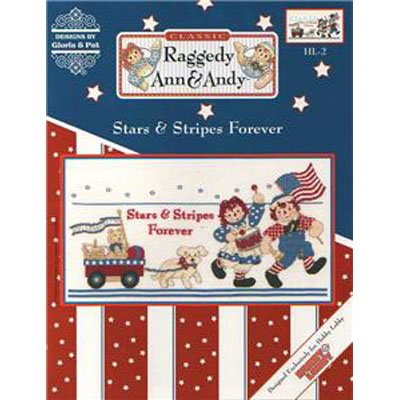 NEW !!!  Stars & Stripes Forever - Cross Stitch Pattern