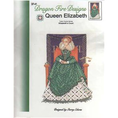 NEW!! Queen Elizabeth - Cross Stitch Pattern