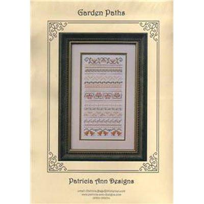 New !! Garden Paths - Cross Stitch Pattern