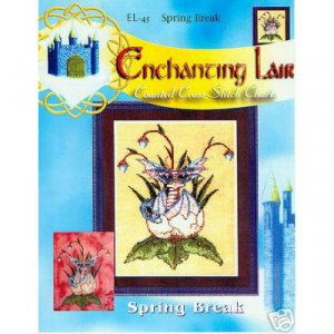 Spring Break Cross Stitch Pattern