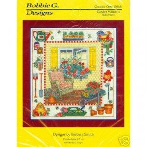 Garden Window Cross Stitch Pattern