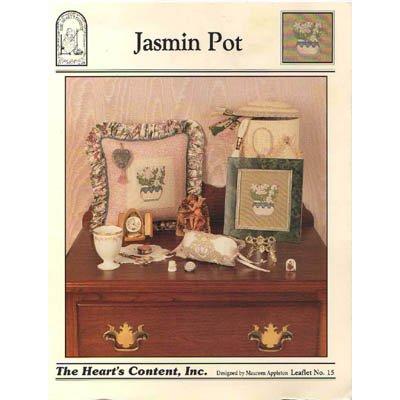 NEW Jasmin Pot - Cross Stitch Pattern