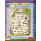 NEW !! Camp Grandma  - 18 Cross Stitch Patterns