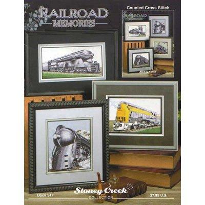 NEW !! Railroad Memories - A Cross Stitch Pattern