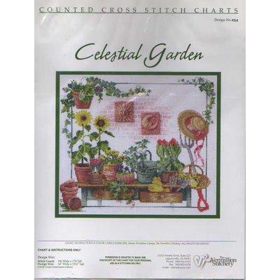 NEW !! Celestial Garden - A Cross Stitch Pattern