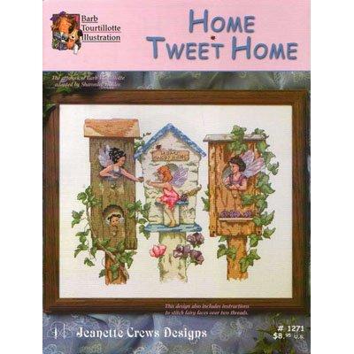 NEW !! Home Tweet Home - A Cross Stitch Pattern