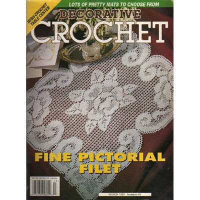 Decorative Crochet Magazine March 1997