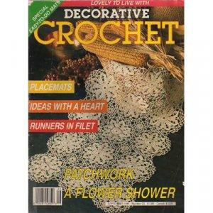 Decorative Crochet Magazine September 1991