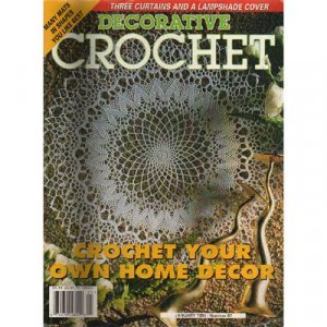 Decorative Crochet Magazine January 1998