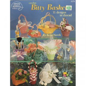 Crochet Bitty Baskets Patterns
