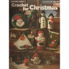 Crochet For Christmas Pattern Leaflet