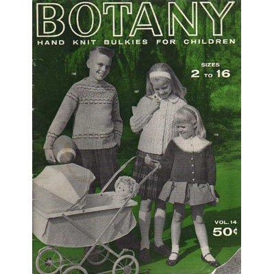 Botany Hand Knit Bulkies For Children  Knitting