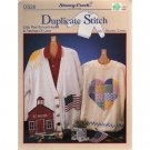 Little Red School House & Patches Of Love Duplicate Stitch Pattern
