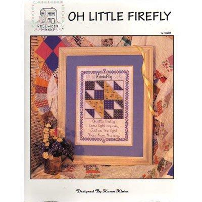 Oh Little Firefly Cross Stitch Pattern