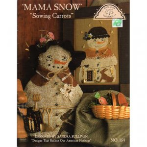 Mama Snow, Sowing Carrots Cross Stitch Patterns