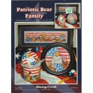Patriotic Bear Family Cross Stitch Patterns