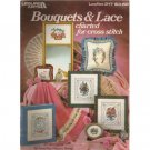 Bouquets & Lace Cross Stitch Patterns