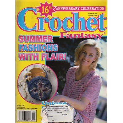 Crochet Fantasy Magazine August 1998