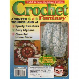 Crochet Fantasy Magazine January 1998