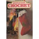 Quick & Easy Crochet Magazine Nov-Dec 1988