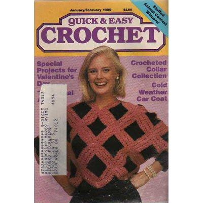 Quick & Easy Crochet Magazine Jan-Feb 1989
