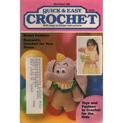 Quick & Easy Crochet Magazine March-Apr 1989