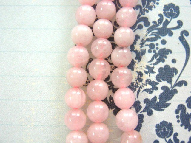 Rose Quartz Beads 6mm Round