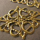 Filigree Connector 29x50mm Links Antique Bronze