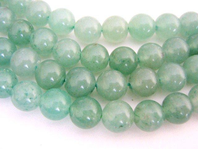 Green Aventurine Beads 6mm Round Gemstone
