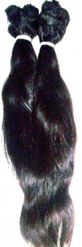 "4 oz. 12-14"" Remi Indian Human Hair Straight/Wavy"